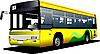 Векторный клипарт: Желтый городской автобус