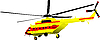 Vector clipart: helicopter