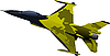 Vector clipart: Air force jet fighter