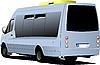 Векторный клипарт: микроавтобус