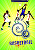 Vector clipart: Basketball poster