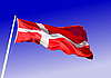 Vector clipart: Flag of Denmark