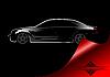 Vector clipart: White silhouette of car sedan