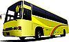 Vector clipart: yellow bus