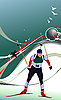 Biathlonläufer