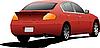 Vector clipart: Red car sedan