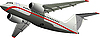 Photo 300 DPI: Passenger Airplane