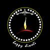 Vektor Cliparts: Diwali Greeting.
