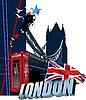 Vektor Cliparts: London