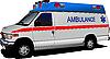 Vector clipart: Modern ambulance van