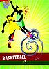 Vector clipart: Basketball poster