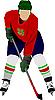 Векторный клипарт: Хоккеист