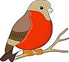 Vektor Cliparts: Vogel