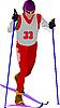Vector clipart: Ski runner