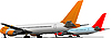 Vector clipart: Airplanes