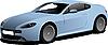 青い車のセダン | ベクトルイラスト
