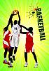 Векторный клипарт: Баскетбольный плакат