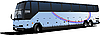 Vector clipart: Tourist bus