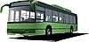 Векторный клипарт: Городской автобус