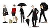 Vector clipart: Business women