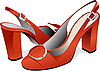 Fashion woman shoes | Stock Illustration