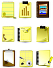 Vector clipart: Office and Business icons