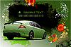 High-Tech-Hintergrund mit Auto