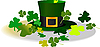 Vector clipart: Leprechaun Hat. St. Patrick Day