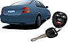 Auto und Zündung-Schlüssel