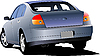 Vector clipart: Car sedan