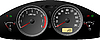 Vector clipart: Speedometer. Accelerating Dashboard. Includes speedometer, tacho