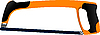 Vector clipart: Hacksaw with the orange handle