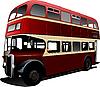 London double Decker red bus.