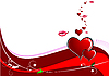 Vector clipart: Valentine`s day background