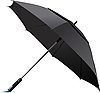 Vector clipart: Opened black umbrella.