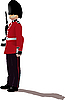 Vector clipart: beefeater