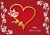 Vector clipart: 8valentine`s heart