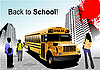 Vector clipart: Back to school.