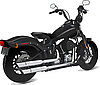 Vector clipart: Motorcycle side view