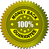 Etikett - Geld-zurück-Garantie