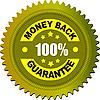 Vector clipart: Label money back guarantee
