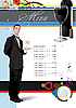 Vector clipart: Restaurant (cafe) menu