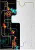 Vector clipart: Abstract modern technical composition