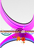 Vector clipart: Hi-tech abstract background