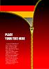 Vector clipart: Zipper open Germany flag