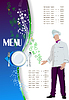 Vector clipart: Restaurant (cafe) menu