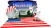 Vector clipart: Elections Day in America