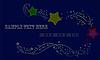 Векторный клипарт: Поздравительная открытка для Рождеством или Новым годом