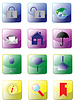 Vector clipart: Website and Internet icons.