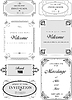 Vector clipart: Set of ornate frames and ornaments